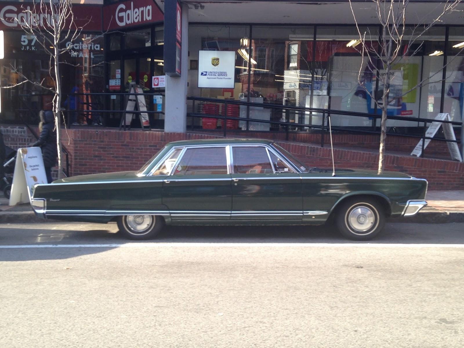 Autoliterate 1966 Chrysler Newport Harvard Square