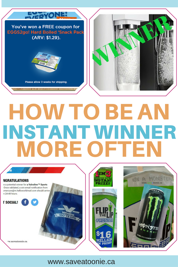 5 Tips to Win More Instant Win Prizes in Contests