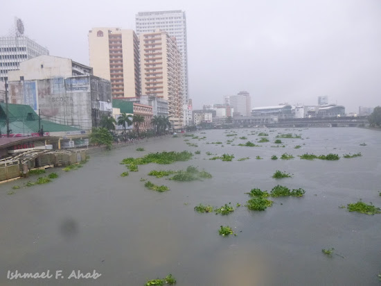 High water in Pasig River due to Habagat flood