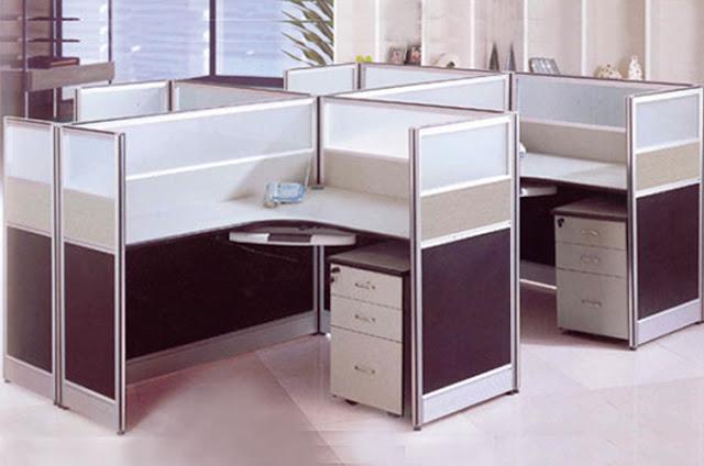 Chất liệu bề mặt vách ngăn văn phòng thường được làm từ: Melamine, Lamineta, Veneer, Vinyl Hàn Quốc
