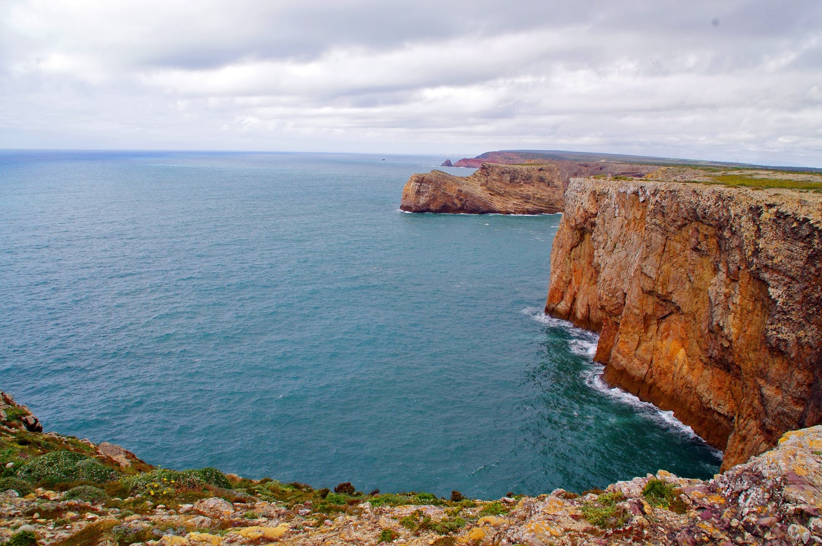 Cabo St Vincent Cliffs