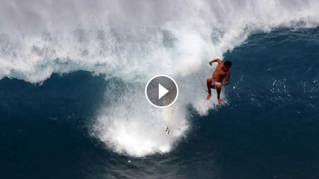 Wipeout Reel Pounded at Pipeline