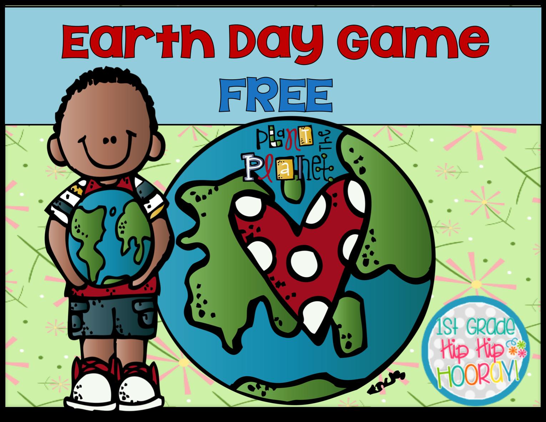 1st Grade Hip Hip Hooray Earth Day Freebie