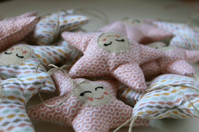 handmade stars ornaments