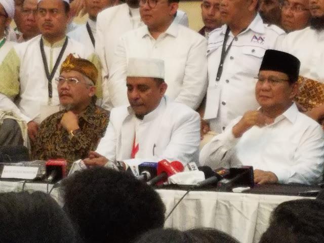 MS Kaban Hadiri Ijtima Ulama II, Isyarat PBB Dukung Prabowo