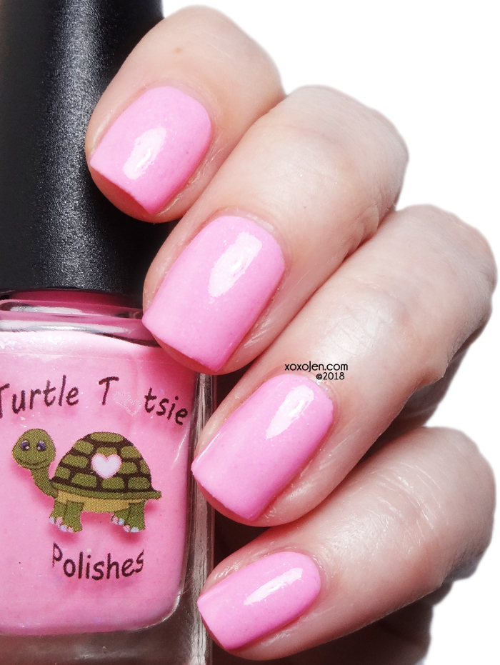 xoxoJen's swatch of Turtle Tootsie Cindy Lou Who