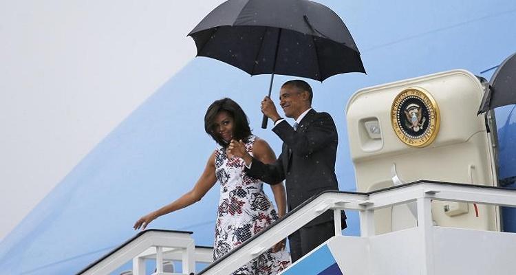 مفاجأة كبرى كانت في انتظار أوباما لحظة وصوله إلى كوبا في زيارة تاريخية