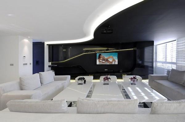 Hogares Frescos Arquitectura Interior de Casa Minimalista por la