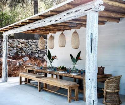 Mi casa entre telas 12 ideas para decorar tu terraza - Ideas para decorar una casa rustica ...