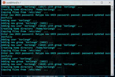 Tutorial Cara Cepat Membuat Banyak User Sekaligus di Linux Debian  Cara Cara Cepat Membuat Banyak User Sekaligus di Linux Debian 7, 8, 9 Juga Ubuntu