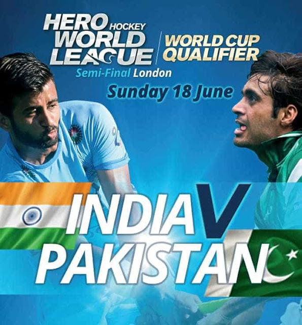 Hero Hockey World League Semi-Final India vs Pakistan
