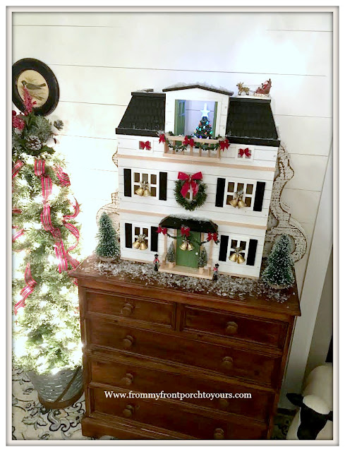 Christmas-Foyer-Joanna Gaines-Hearth & Hand-Doll House-Cottage Style-Farmhouse Style-From My Front Porch To Yours