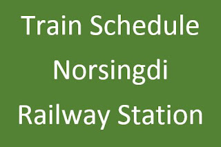 Norsingdi railway station train schedule