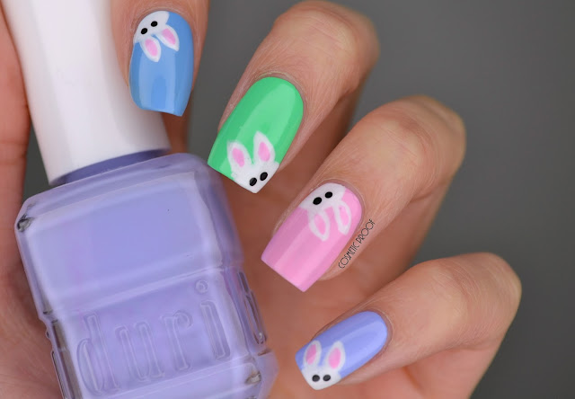 "NAILS | ""Hoppy"" Easter Monday #ManiMonday"
