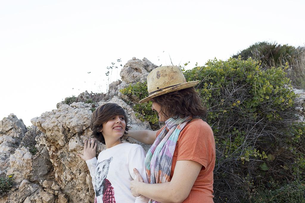 Sesión fotográfica día de la madre La Cala del Moral. Málaga