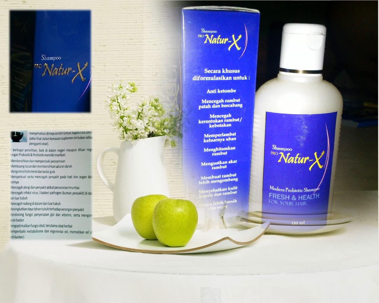 Shampo Pro Natur X Shampo Probiotik TH Online
