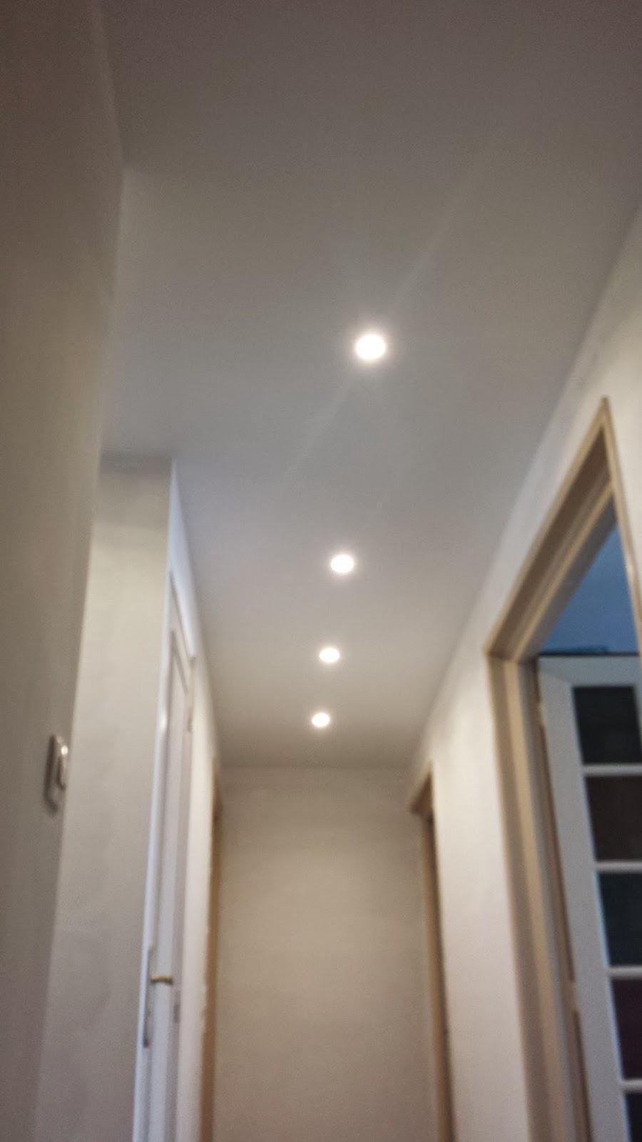 Couloir  Faux plafond  Partie 7 Massy Travaux Bricolage