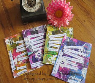 Whimsy Circle Cards Deuteronomy Study by Lynn Shokoples