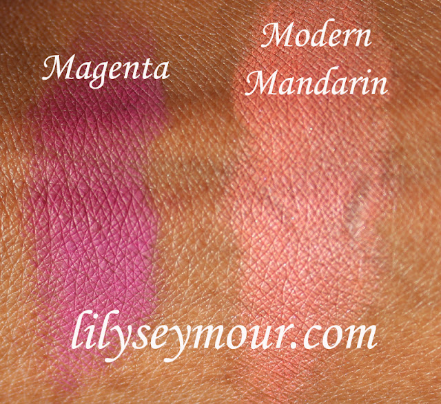 Mac Magenta  Blush, Mac Modern Mandarin Blush