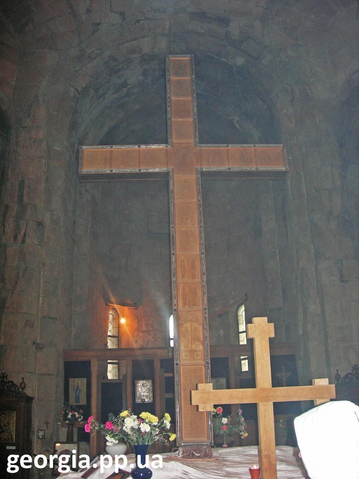 Грузинский православный крест