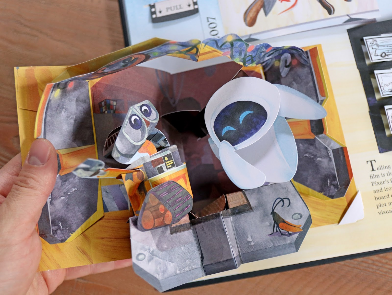 Pixar A POP-UP CELEBRATION Book Review