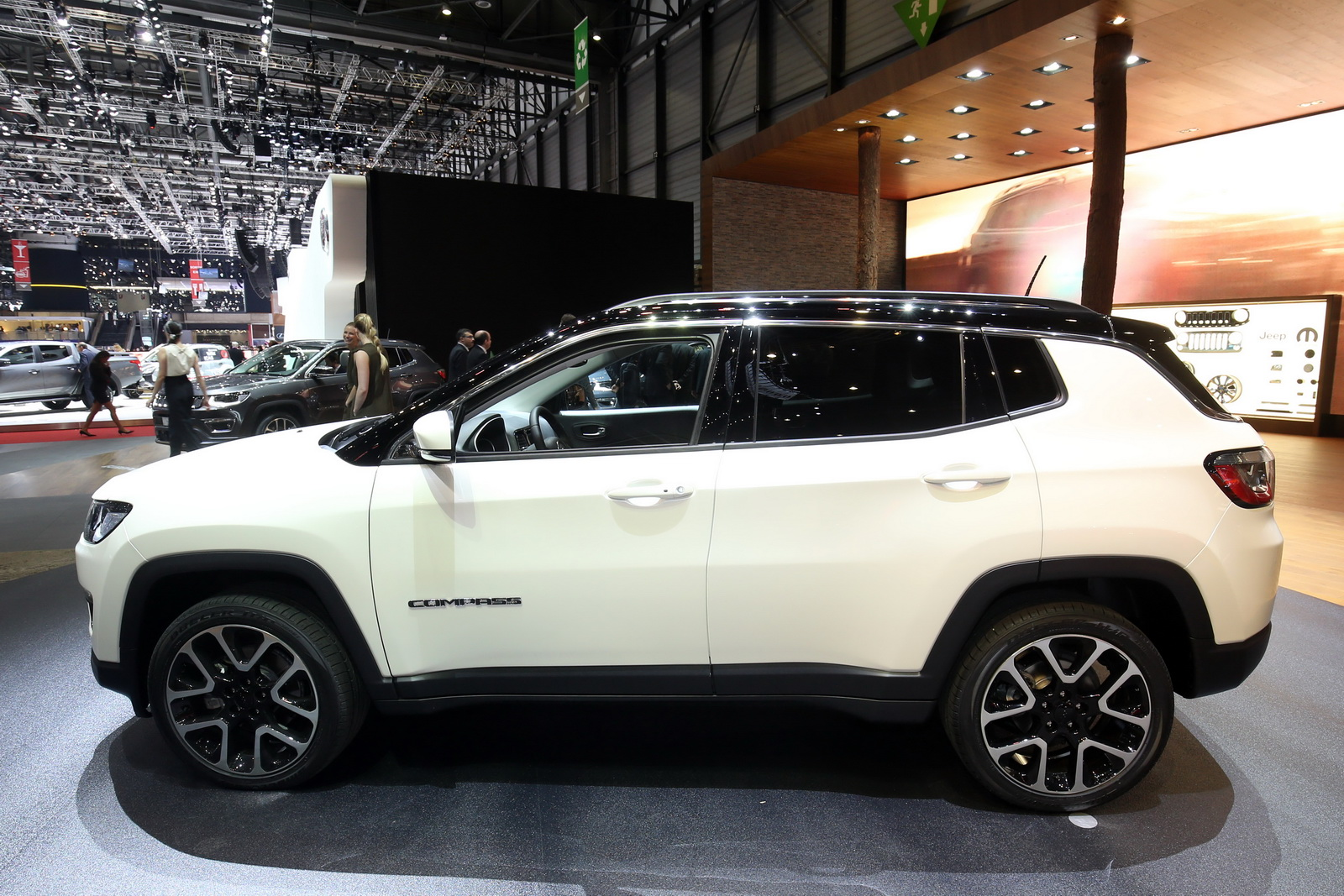 New Euro-Spec Jeep Compass Lands In Geneva To Challenge ...