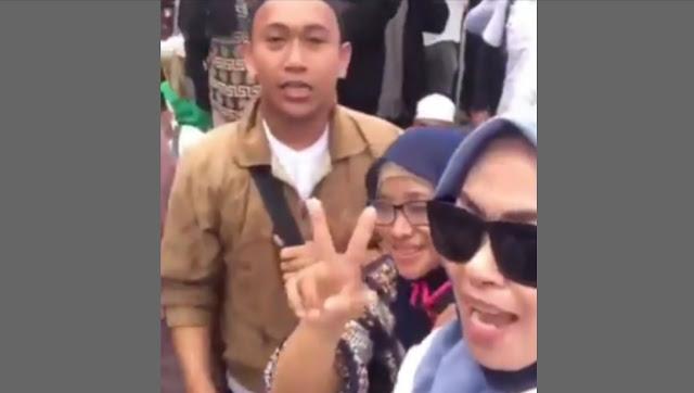 Viral Video Pendemo Bawaslu Serukan Penggal Kepala Jokowi
