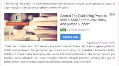 Cara Memasang Iklan In-article Native Google AdSense Dalam Entri Blog