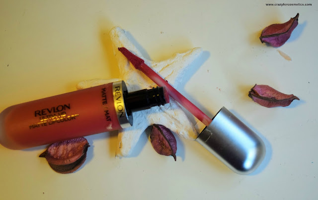 Revlon Ultra HD Matte Lipcolor in Devotion Swatch Review