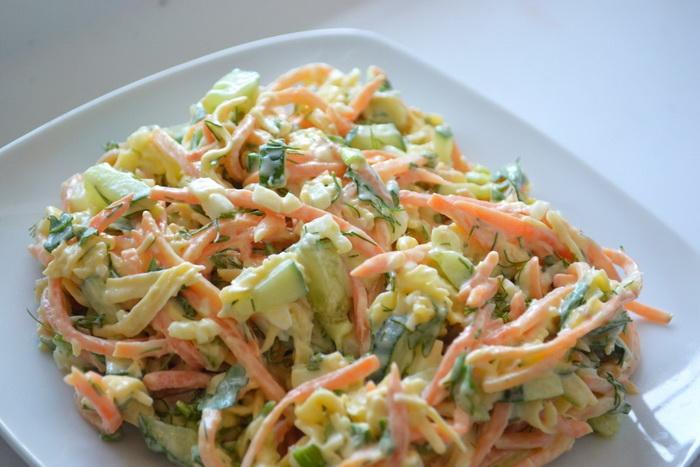 Простые и вкусные салаты с корейской морковкой