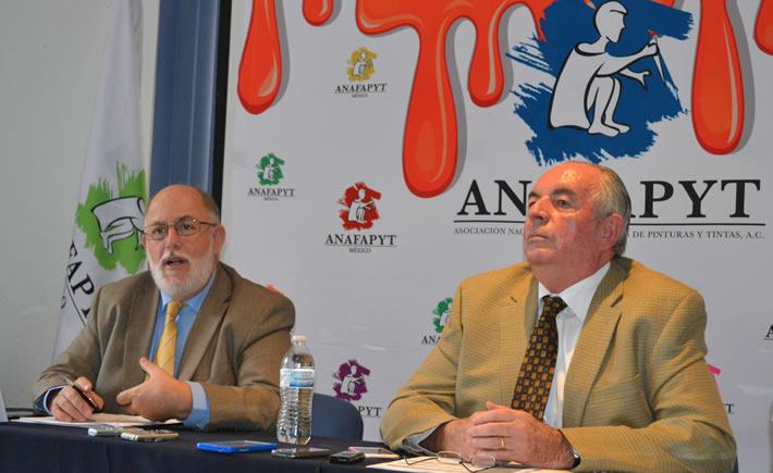 La industria de la pintura en México tiene un déficit de 484 millones de dólares, informa el Presidente de la ANAFAPYT, Javier Maldonado. (Vanguardia Industrial)