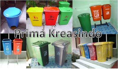 tong sampah fiberglass murah