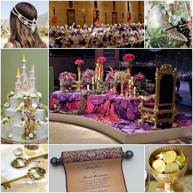 A Medieval Faire Quinceanera Sweet Fifteen Theme