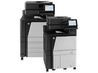 Picture HP Color LaserJet Managed Flow MFP M880 Printer