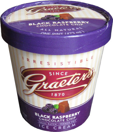 Black Raspberry Chocolate Chip Ice Cream : Buy Ice Cream Online ...
