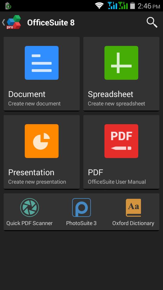 Download OfficeSuite 8 Premium (PDF & Fonts) v8.0.2444 APK - Haxtek