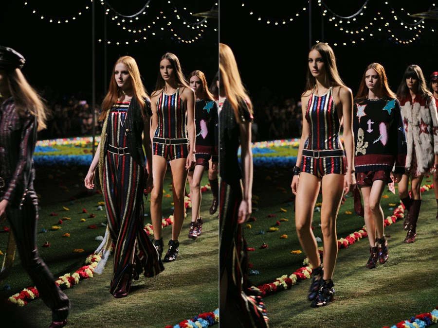 new york fashion week tommy hilfiger show catwalk models