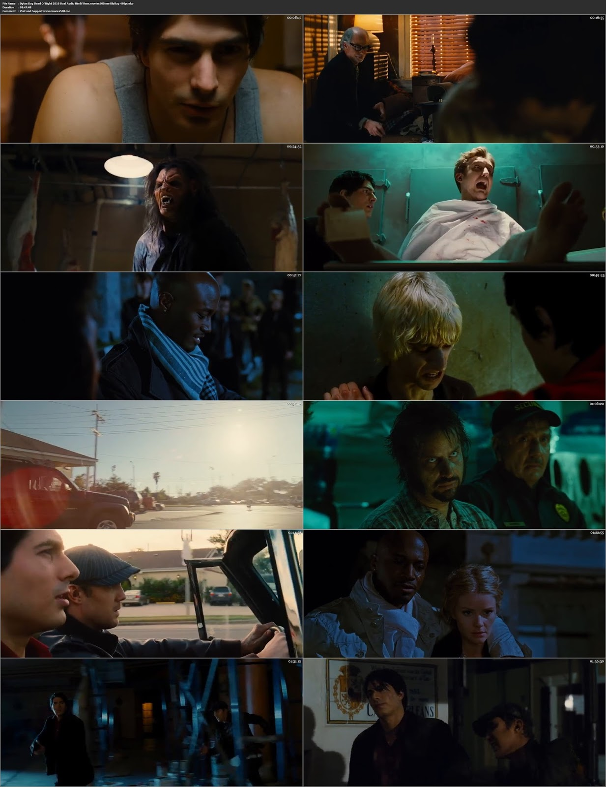 Dylan Dog Dead Of Night 2010 Hindi Dubbed 350MB BluRay 480p at movies500.me