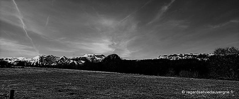 Les Monts Dore.