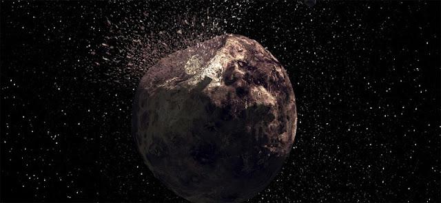 Asteroide 3200 Faetonte - ilustração