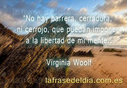 citas famosas Virginia Wolf
