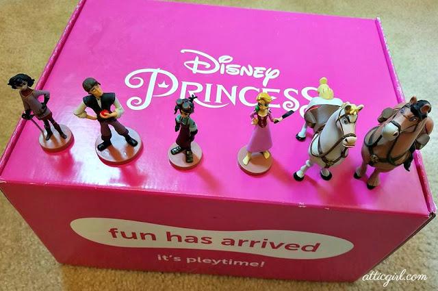 Disney Princess Pleybox, Disney Princess, Rapunzel, Pleybox subscription, unboxing