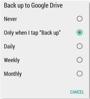 Cara Backup Chat WhatsApp ke Google Drive sebagai Cadangan Chat WhatsApp apabila ponsel rusak atau hilang
