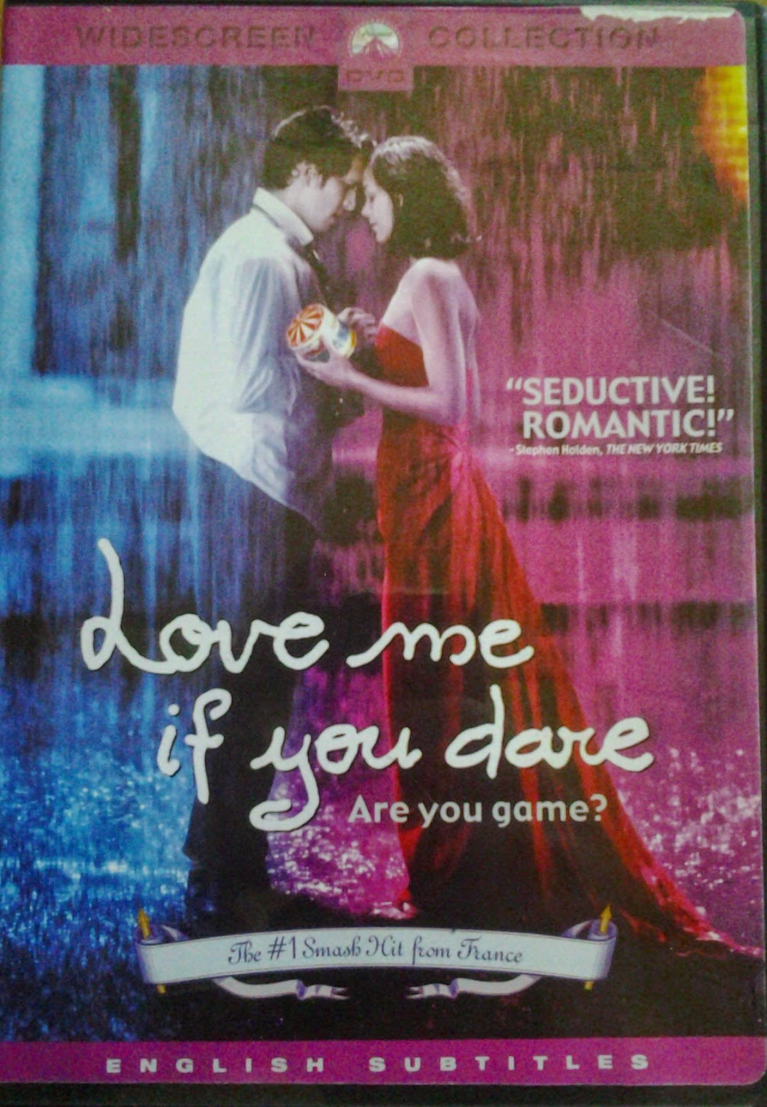 DVD Cover - Love Me If You Dare