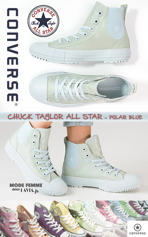 Baskets CHUCK TAYLOR ALL STAR montantes polar blue