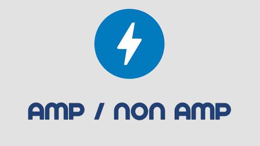 Perbedaan Template Blogger AMP dengan Non AMP / HTML Lengkap