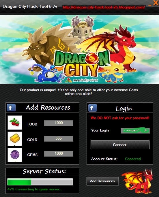 dragon city hack game free download