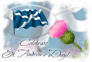 St. Andrews day e-cards greetings free download