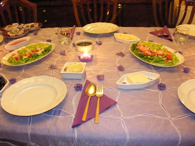 Özel Günler İçin Masalarımız,sahra