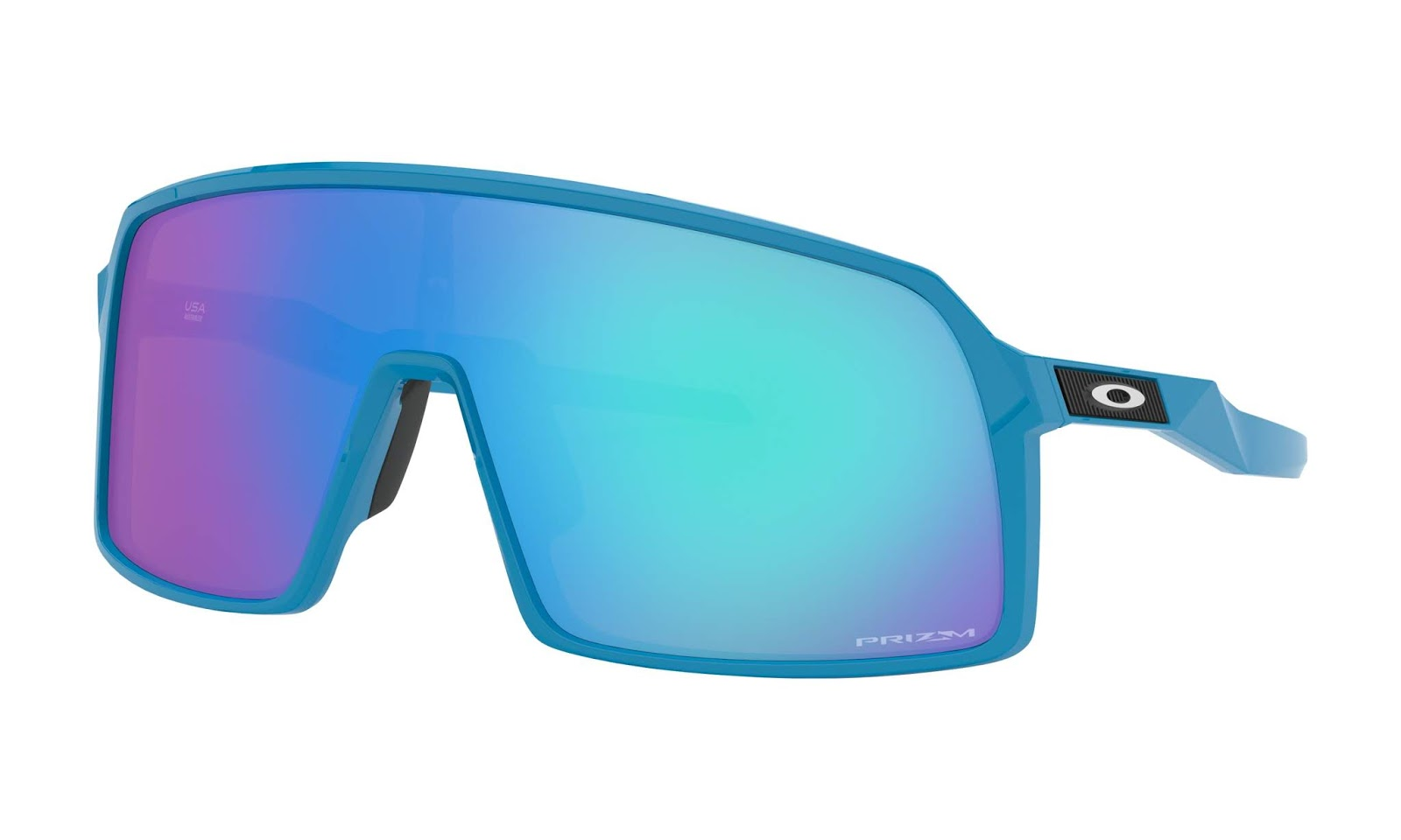 9b28f2fd25 sky + prizm sapphire  260 lens pre coated with Oakley hydrophobic nano  solution complete package comes with box and microfiber pouch